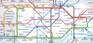 modern tube map extract